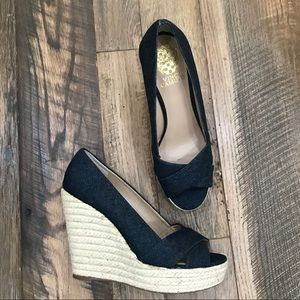 NEW Vince Camuto Wedges Wm 8